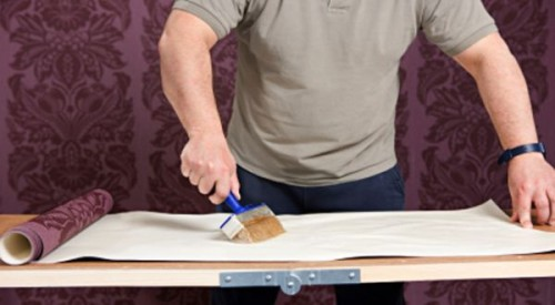 Lem kayu dan lem hpl Crona - Pengeleman Wallpaper
