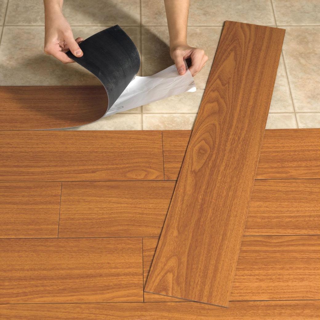 Lem kayu dan lem hpl Crona - vinyl lantai parkit kayu