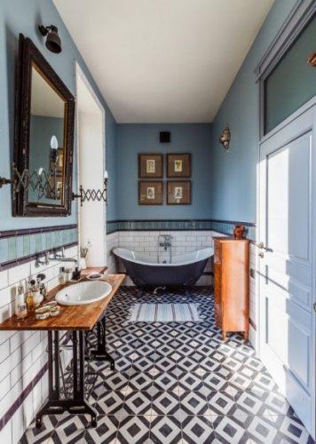 Lem kayu dan lem hpl Crona - architectureartdesigns.com bathroom eklektik 1 e1605405681529