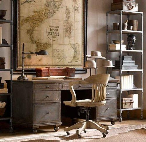 Lem kayu dan lem hpl Crona - crismatec.com ruang kerja vintage e1605287879996