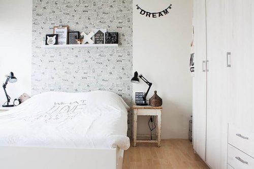Lem kayu dan lem hpl Crona - decoist.com scandinavian bedroom e1605975583584