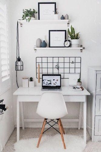 Lem kayu dan lem hpl Crona - id.pinterest.com ruang kerja minimalis e1605287705211