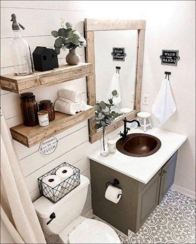Lem kayu dan lem hpl Crona - newsmartdesign.com bathroom farmhouse e1605369582585