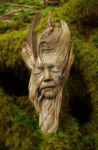 Lem kayu dan lem hpl Crona - mymodernmet.com debra bernier driftwood sculpture 13 e1609085973822